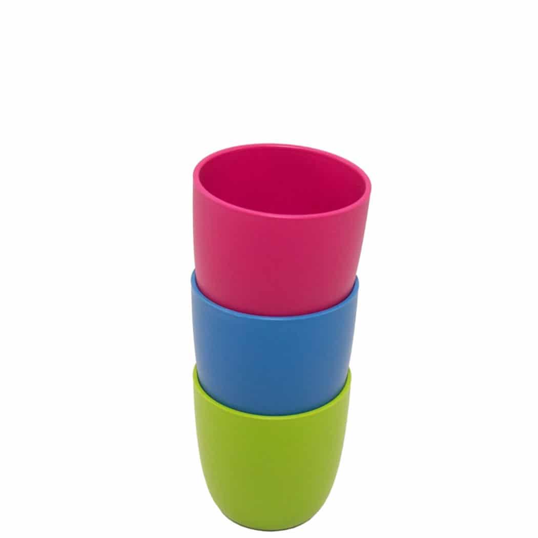 Teller aus nachwachsenden Rohstoffen ohne Melamin plastikfrei ohne Weichmacher wie BPA Bio Geschirr Lime ajaa